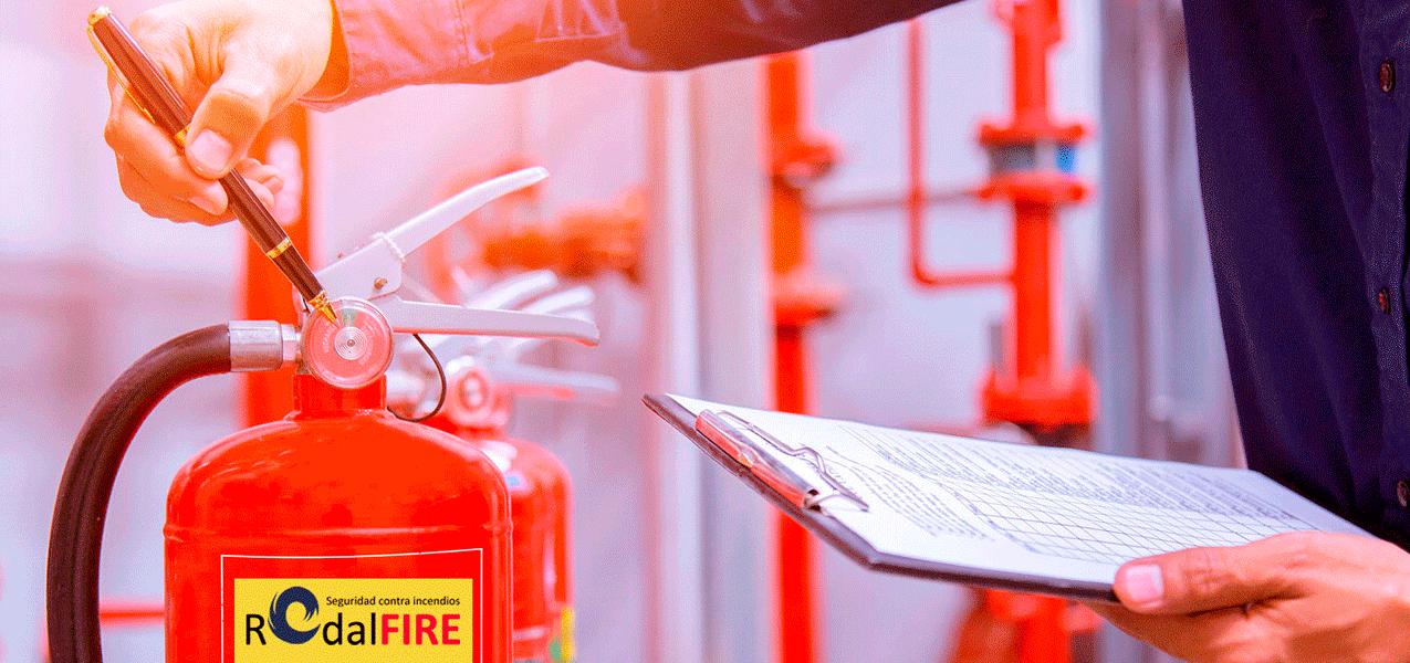 Mantenimiento de incendios - Control de extintores 2 | RodalFire, S.L.