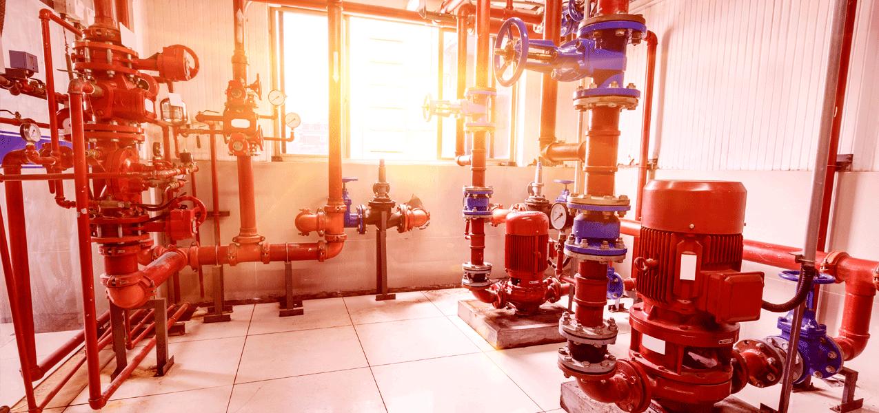 Sistemas de abastecimiento de agua contra incendios - Centro de presión de agua de extinción | RodalFire, S.L.