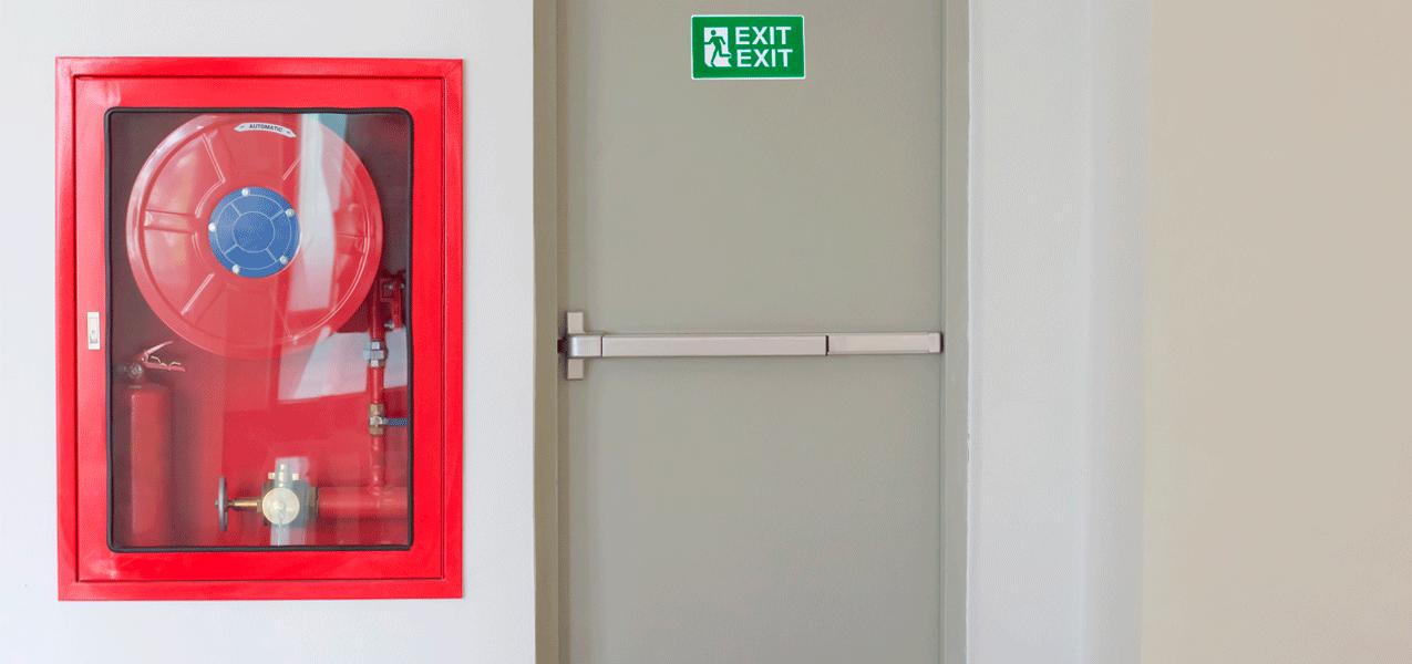 Alumbrado de emergencia - Control de apertura de puertas en vías de emergencia | RodalFire, S.L.